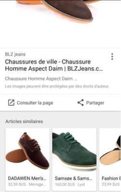 articles similaires google images