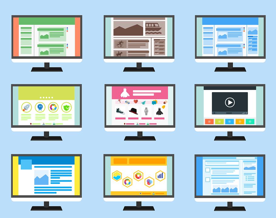 Multi screen site e-commerce